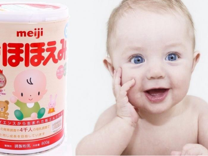 Bé uống sữa Meiji có tốt không?