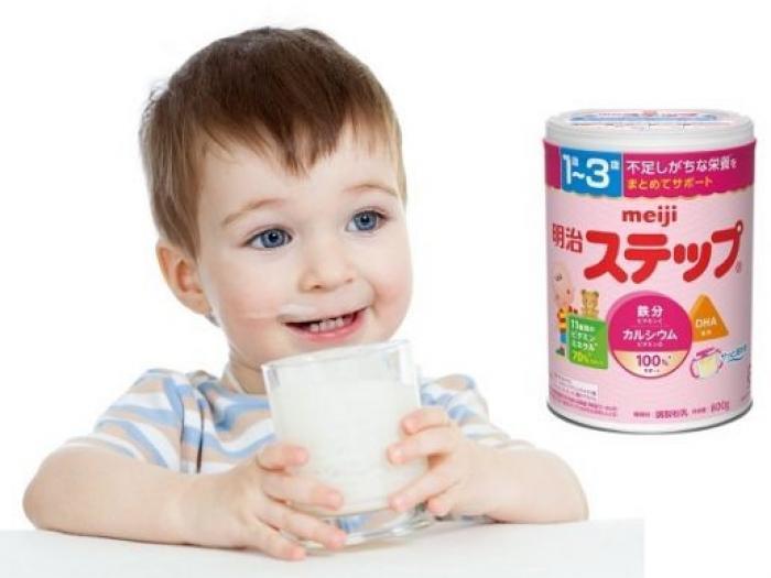 Uống sữa Meiji có bị táo bón không?