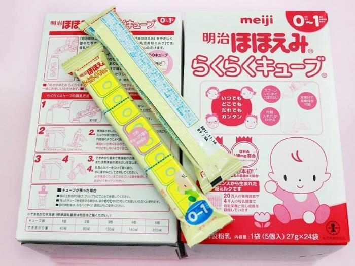 Sữa thanh Meiji cho trẻ sơ sinh có tốt không, sử dụng như thế nào?