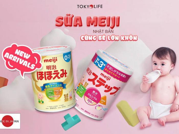 Sữa Meiji có tốt không?