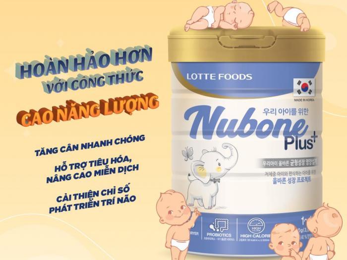 Sữa Nubone Plus+ - Tăng cân, chóng khỏe, vui vẻ cả nhà