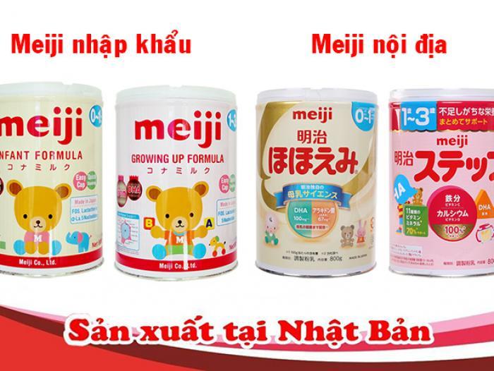 Hướng dẫn cách pha sữa Meiji chuẩn Nhật
