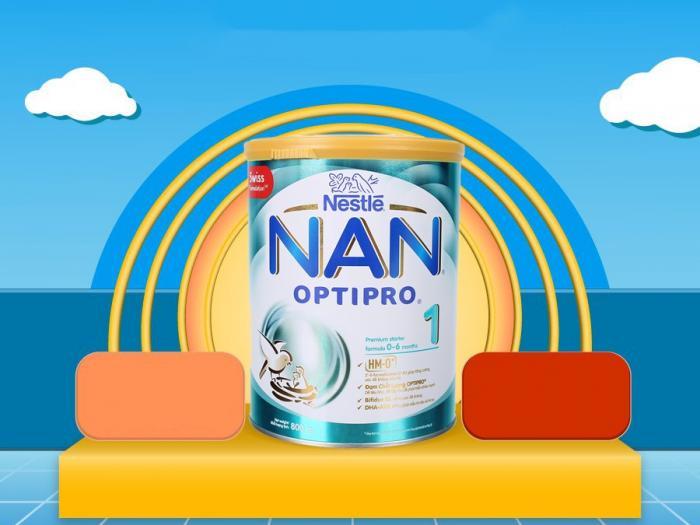 Công dụng của sữa Nan Optipro 1 đối với trẻ sơ sinh từ 0-6 tháng tuổi