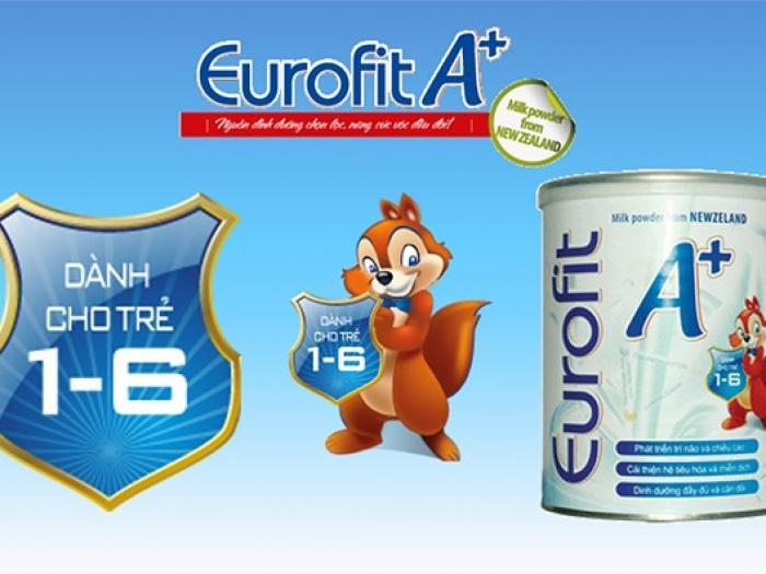 Sữa bột Eurofit A+ có tốt không? Mua ở đâu chính hãng?