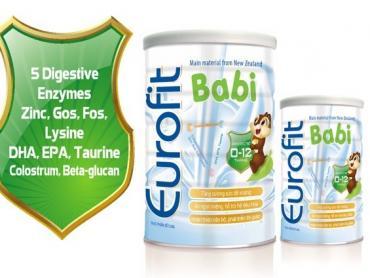 Sữa Eurofit bán ở đâu chính hãng giá tốt?