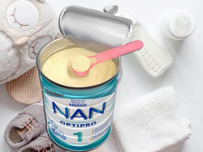 Mẹ có biết 1 thìa sữa Nan pha bao nhiêu nước không?