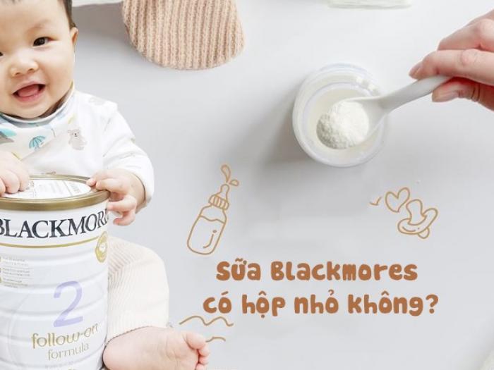 Sữa Blackmores có hộp nhỏ không?