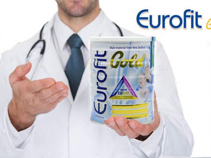 Cách pha sữa bột Eurofit Gold bảo toàn dưỡng chất