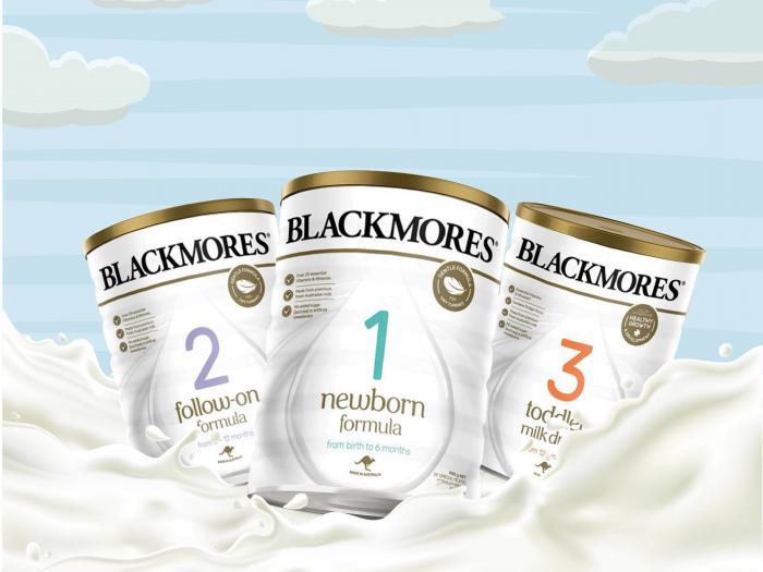 Sữa Blackmores pha xong để được bao lâu?