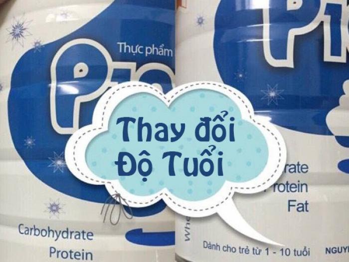 Sữa P100 dùng cho trẻ mấy tháng tuổi?