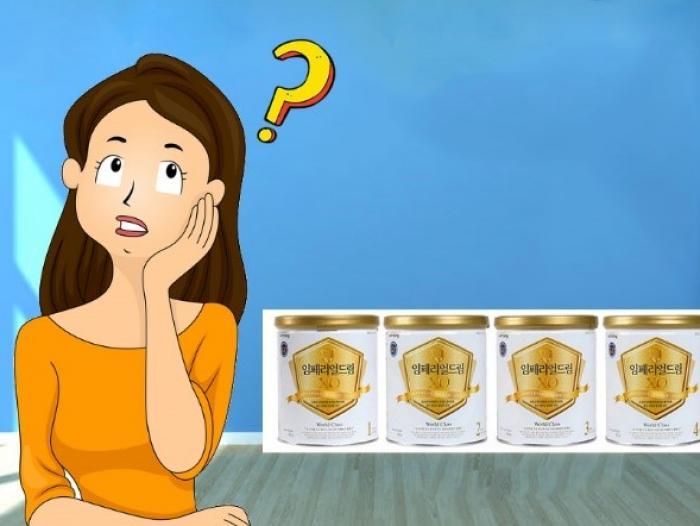 Vì sao sữa XO cho trẻ từ 1 đến 3 tuổi được chia thành nhiều loại khác nhau?