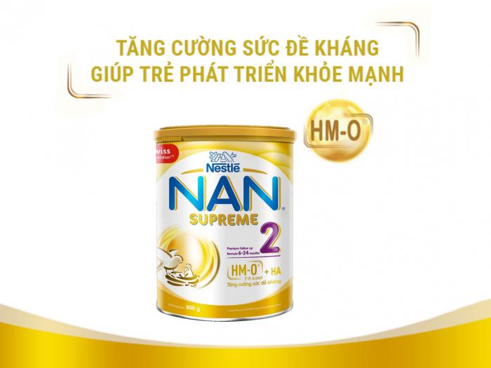 Sữa Nan Supreme HMO giá bao nhiêu tiền?