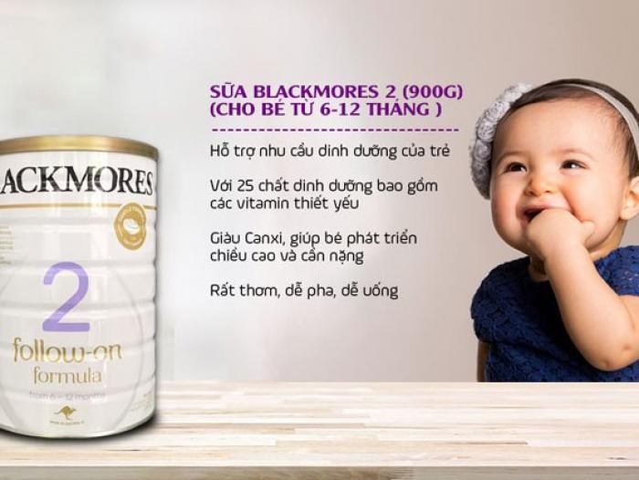 Sữa Blackmores số 2 giá bao nhiêu tiền?
