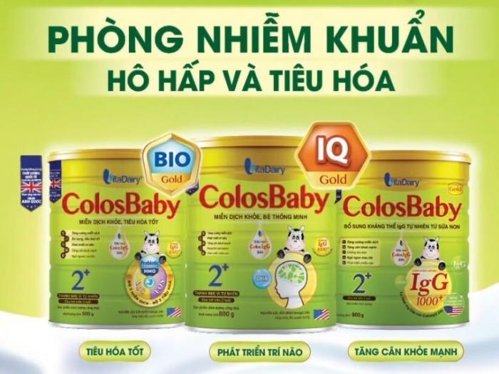 Sữa Colosbaby 2 có tốt không?