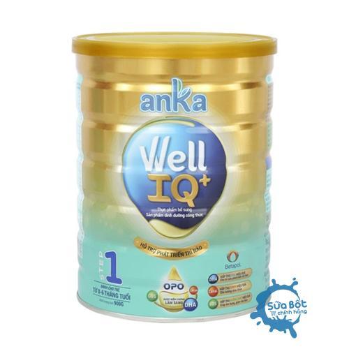 Sữa Anka Well IQ Step 1 900g (cho trẻ từ 0 - 6 tháng tuổi)