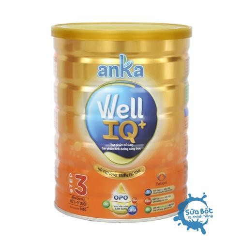 Sữa Anka Well IQ Step 3 900 (cho trẻ từ 1 - 3 tuổi)