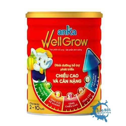 Sữa Anka Well Grow 900g (cho trẻ từ 2 - 10 tuổi)