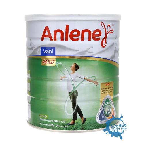 Sữa Anlene Gold Movepro hương Vani 800g
