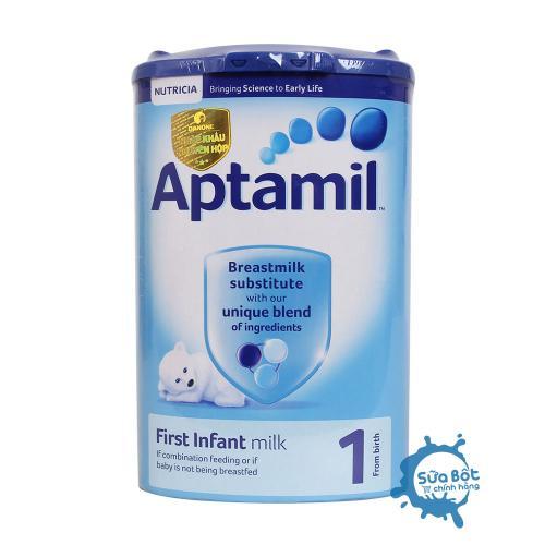 Sữa Aptamil Anh 1 900g (dành cho trẻ từ 0 – 6 tháng tuổi)