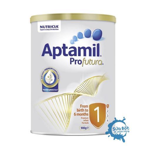 Sữa Aptamil Úc số 1 900g (dành cho trẻ từ 0 đến 6 tháng)