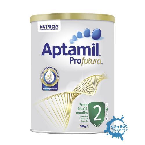 Sữa Aptamil Úc số 2 900g (dành cho trẻ từ 6 đến 12 tháng)