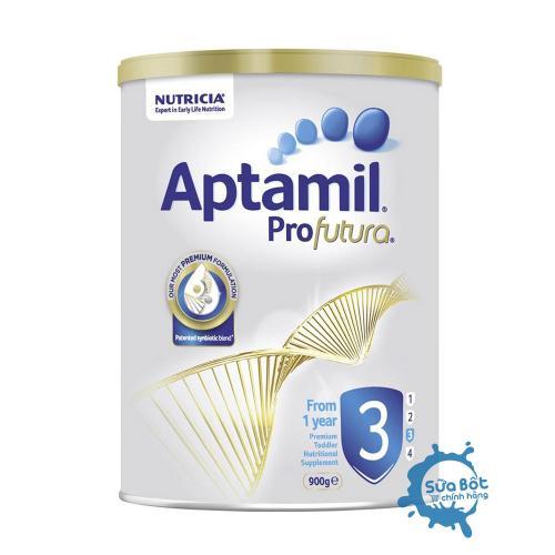 Sữa Aptamil Úc số 3 900g (dành cho trẻ từ 1 đến 3 tuổi)
