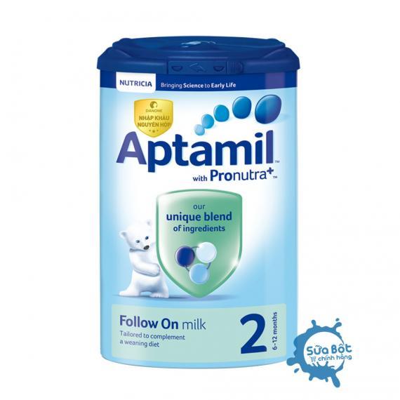 Sữa Aptamil Anh 2 900g (cho trẻ từ 6-12 tháng tuổi)