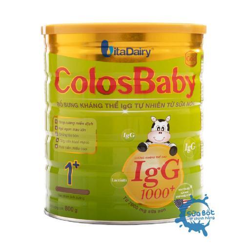 Sữa ColosBaby 1+ 800g (dành cho trẻ từ 1-2 tuổi)