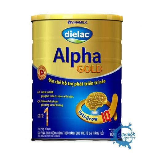 Sữa Dielac Alpha Gold 1 900g (cho trẻ từ 0 - 06 tháng)