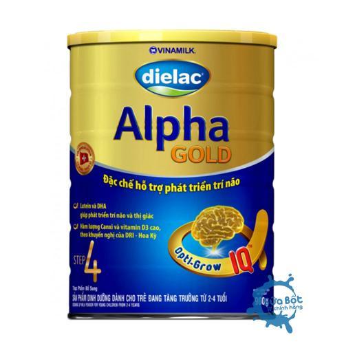 Dielac Alpha Gold 4 900g (cho trẻ từ 2-6 tuổi)