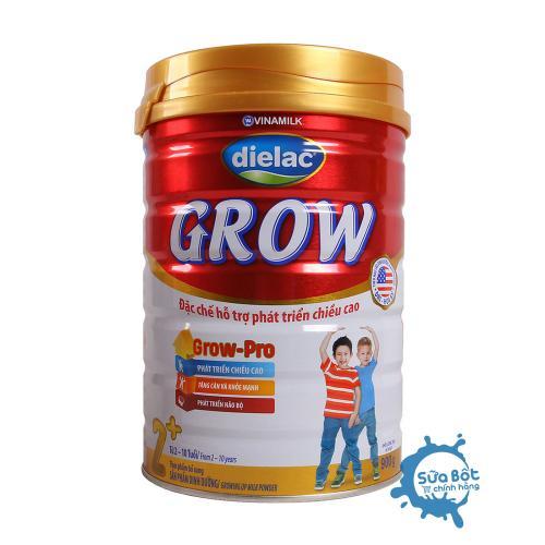 Sữa Dielac Grow 2+ 900g (dành cho trẻ từ 2-10 tuổi)