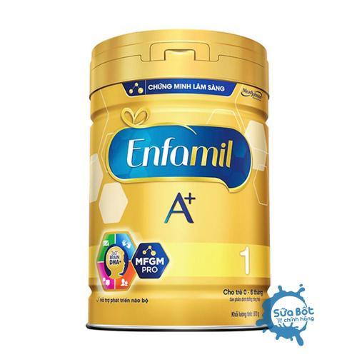 Sữa Enfamil A+ 1 DHA+ MFGM Pro 900g (dành cho trẻ từ 0 – 6 tháng tuổi)