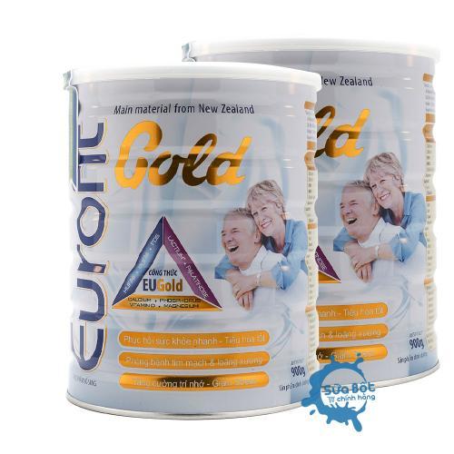 Combo 2 lon sữa Eurofit Gold | SỮA TĂNG CƯỜNG DINH DƯỠNG & SỨC KHỎE CHO NGƯỜI LỚN TUỔI