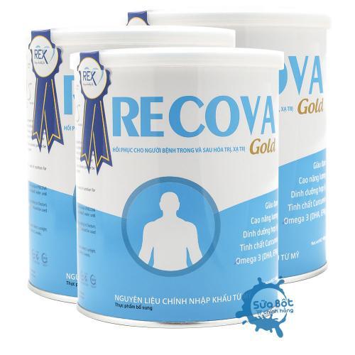 Combo 3 lon sữa Recova dành cho người ung thư