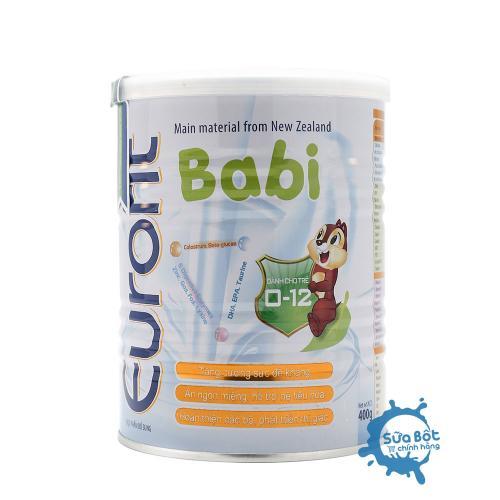 Sữa Eurofit Babi 400g (dành cho trẻ từ 0-12 tháng)