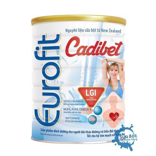 Sữa Eurofit Cadibet 400g (dành cho người đái tháo đường)