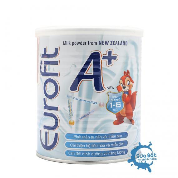 Sữa Eurofit A+ 400g (dành cho trẻ từ 1 - 6 tuổi)