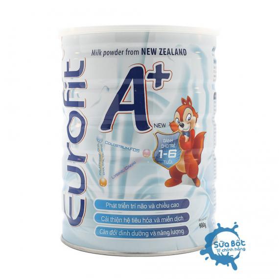 Sữa Eurofit A+ 900g (dành cho trẻ từ 1 - 6 tuổi)