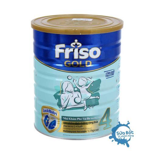 Sữa Friso Gold 4 1,5kg (dành cho trẻ từ 2-4 tuổi)