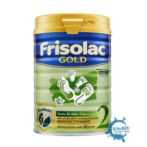 Sữa Frisolac Gold 2 900g (dành cho trẻ từ 6-12  tháng tuổi)