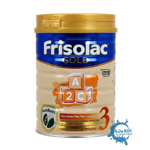 Sữa Frisolac Gold 3 900g (dành cho trẻ từ 1-2 tuổi)
