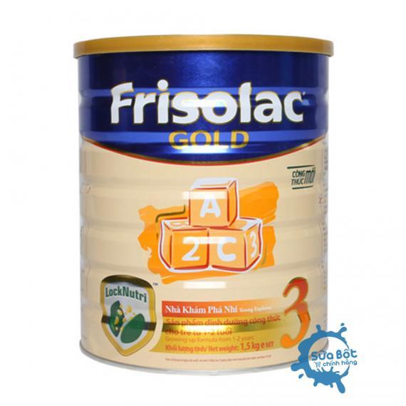 Sữa Frisolac Gold 3 1,5kg (dành cho trẻ từ 1-2 tuổi)
