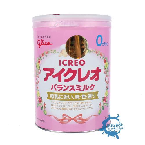 Sữa Glico Icreo số 0 800g (dành cho trẻ từ 0-12 tháng)