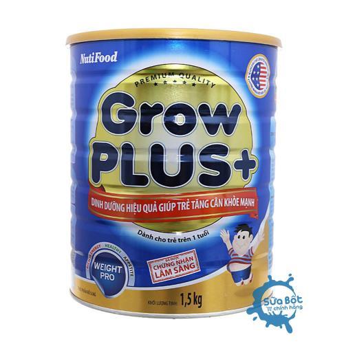 Sữa Grow Plus + xanh 1,5kg (dành cho trẻ từ 1 tuổi trở lên)