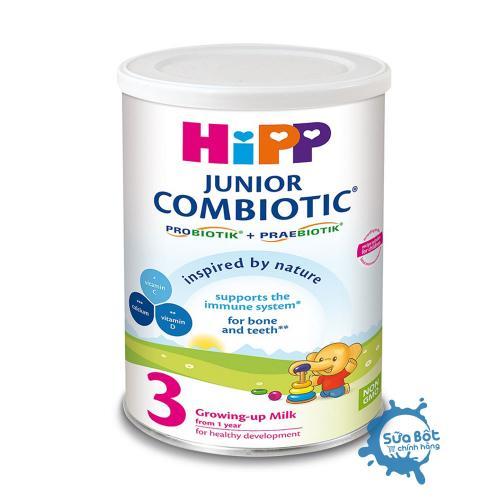 Sữa HiPP Combiotic 3 Organic 350g (dành cho trẻ từ 1-3 tuổi)