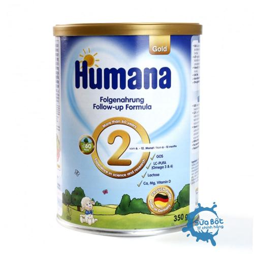 Sữa Humana Gold 2 Đức 350g (dành cho trẻ từ 6-12 tháng tuổi)