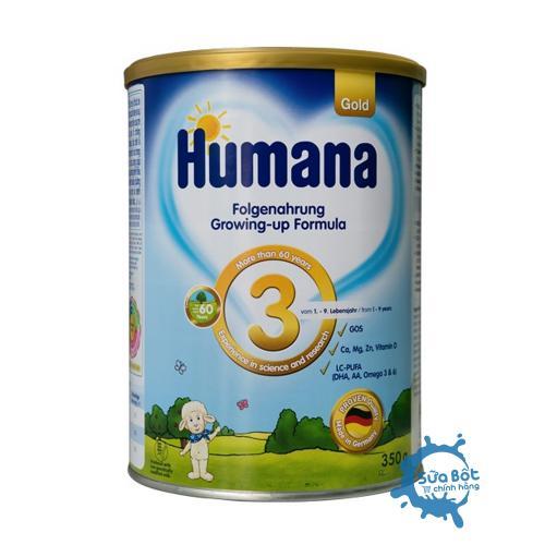 Sữa Humana Gold 3 Đức 350g (dành cho trẻ từ 1-9 tuổi)