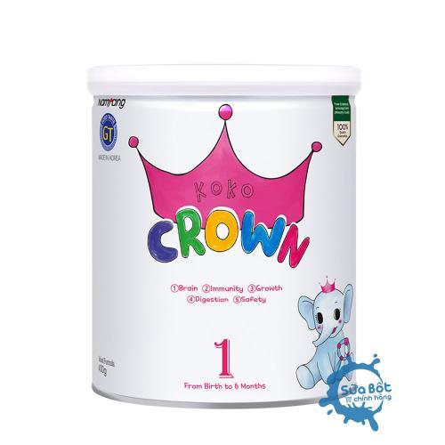 Sữa Koko Crown số 1 (dành cho trẻ từ 0-6 tháng)