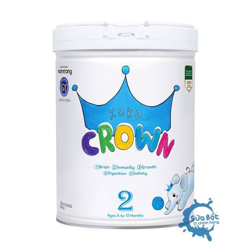 Sữa Koko Crown số 2 (dành cho trẻ từ 0-12 tháng)