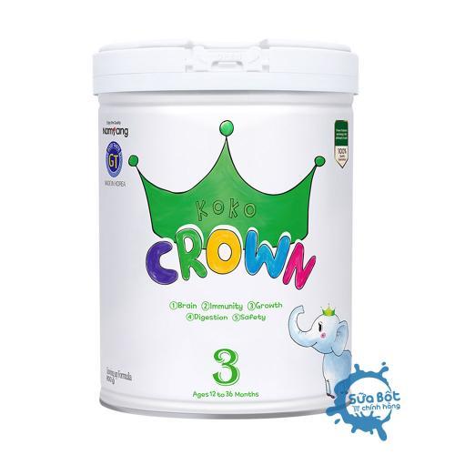 Sữa Koko Crown số 3 (dành cho trẻ từ 1-3 tuổi)